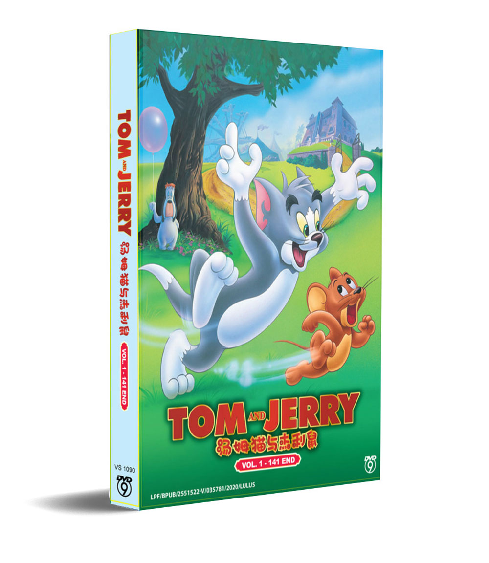 Tom And Jerry (DVD) () English Animation Movie