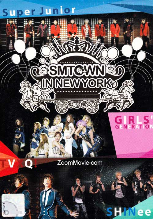 SMTOWN in New York (DVD) (2012) Korean Music