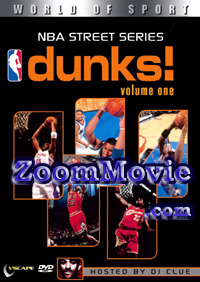 NBA Street Series Dunks (Volume One) (DVD) Basketball