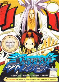 Shaman King Complete TV Series (DVD) アニメ