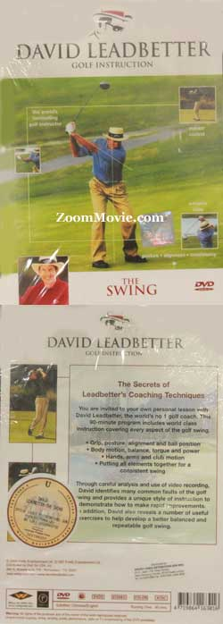 David Leadbetter Golf Instruction - The Swing (DVD) Golf