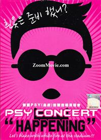 PSY Concert HAPPENING (DVD) Korean Music Video